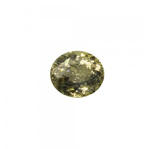 Yellow Sapphire Oval Cut, 6.38cts