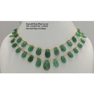 Emerald Drop Plain Layout