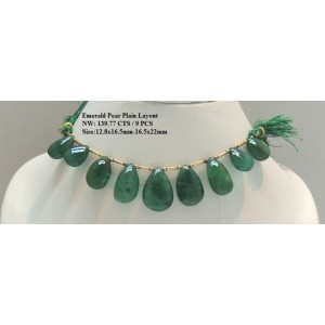 Emerald Pear Plain Layout