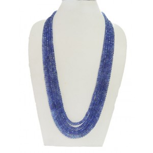 Tanzanite Button Faceted Beads