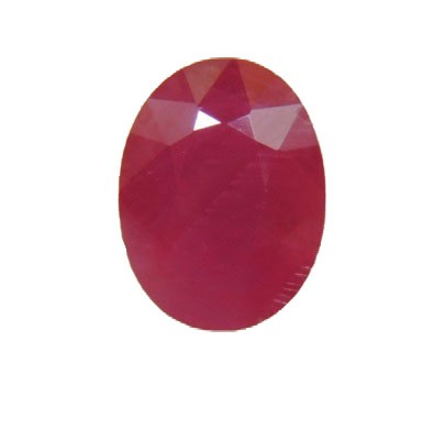 Ruby Oval Cut, 5.63 cts