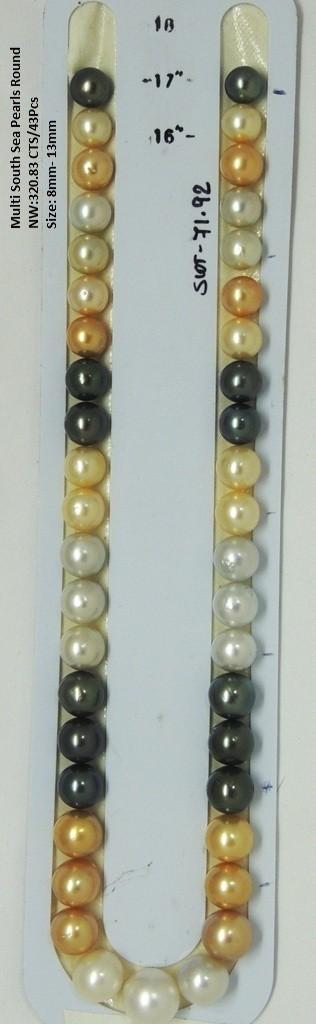 Multi South Sea Round Pearls