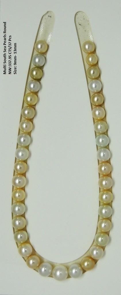 Multi South Sea Pearls Round