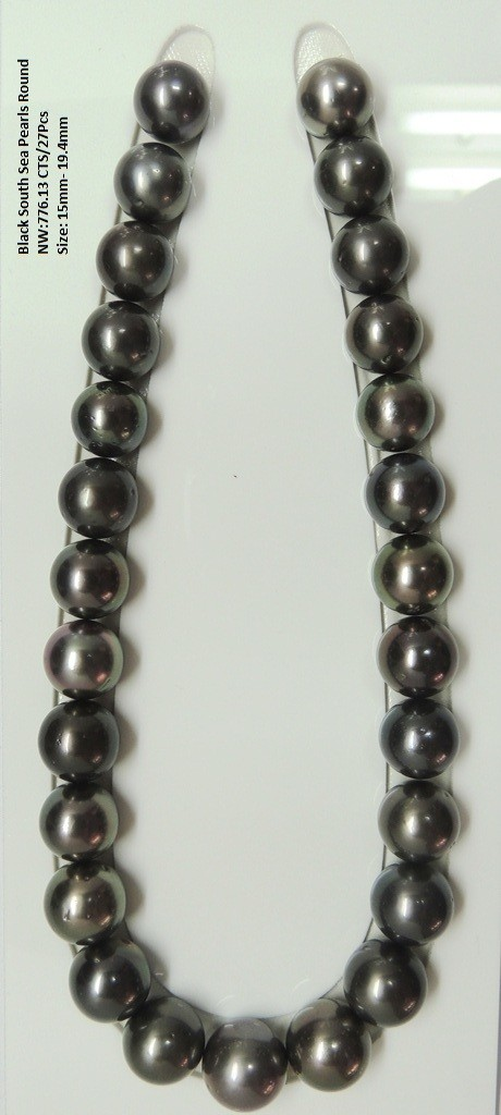Black South Sea Pearls Round