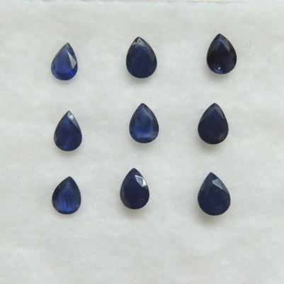 Blue Sapphire Pear Cut