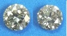 White Diamond Round Cut