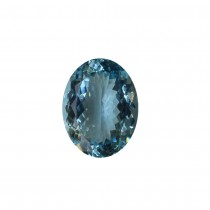 Aquamarine Oval Cut, 18.43cts