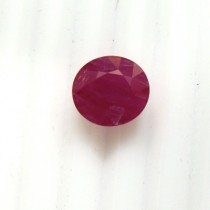 Ruby Oval Cut, 6.44 cts