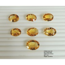 Citrine Oval Cut