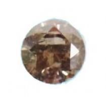 Dark Brown Diamond Round cut