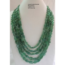 Emerald Tumble Plain Beads