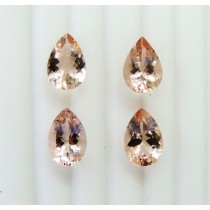 Morganite Pear Cut