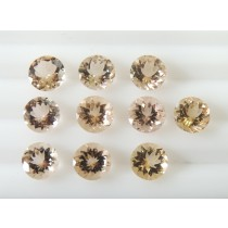 Morganite Round Cut