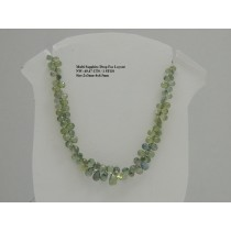 Multi Sapphire Drop Faceted Layout