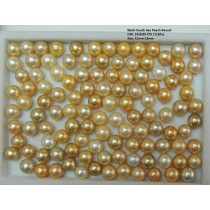 Multi South Sea Loose Round Pearls
