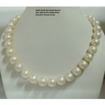 Off White South Sea Pearls Round
