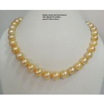 Golden South Sea Pearls Round