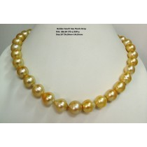 Light Golden South Sea Pearls Drop
