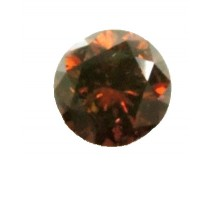 Red Diamond Round Cut