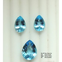 Sky Blue Topaz Pear Cut