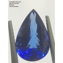 Tanzanite Pear Cut