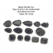 Black Diamond Fancy Cut Far Sizes