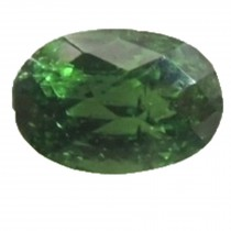 Tsavorite Oval Chess Cut