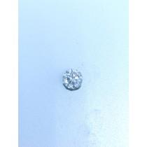 White Round Diamond - 0.96 carats