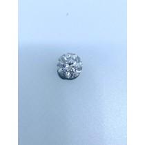 White Round Diamond - 3.08 carats