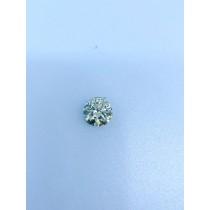 White Round Diamond - 2.87 carats