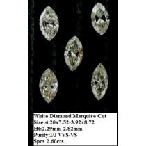 White Diamond Mq Cut