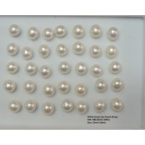 White South Sea Pearls Drops