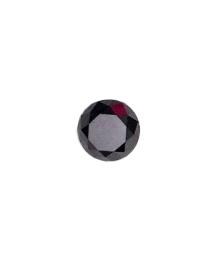 Black Round Diamond - 6.55 carats
