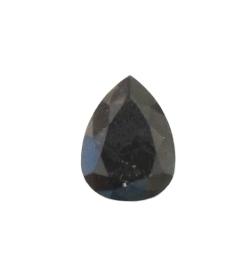 Black Pear Diamond - 10.04 carats