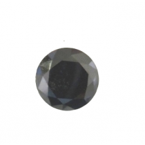 Black Round Diamond - 6.70 carats