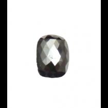 Black Cushion Rose Cut Diamond - 4.91 carats