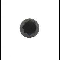 Black Round Diamond - 5.73 carats