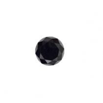Black Round Diamond - 5.33 carats