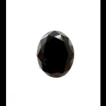 Black Oval Diamond - 25.57 carats