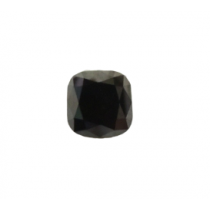 Black Cushion Diamond - 4.43 carats