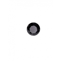 Black Round Diamond - 6.84 carats