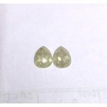Natural Light Grey Rosecut is 1.34 carats pcs. This pcs has Sparkline Luster.