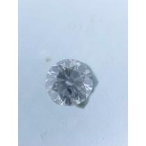 White Round Diamond - 0.52 carats