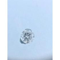 White Round Diamond - 0.21 carats