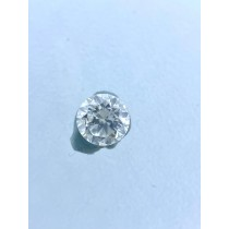 White Round Diamond - 0.20 carats