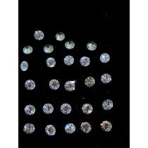White Round Diamond - 5.08 carats
