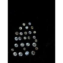 White Round Diamond Lot - 5.05 carats