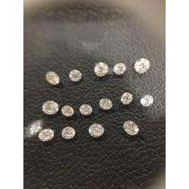 White Round Diamond - 0.55 carats