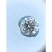 White Round Diamond - 0.81 carats