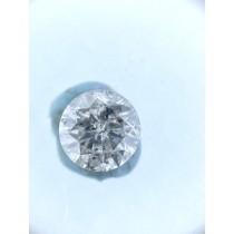 White Salt N Pepper Round Diamond - 0.80 carats